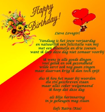 gefeliciteerd gedichten verjaardag
